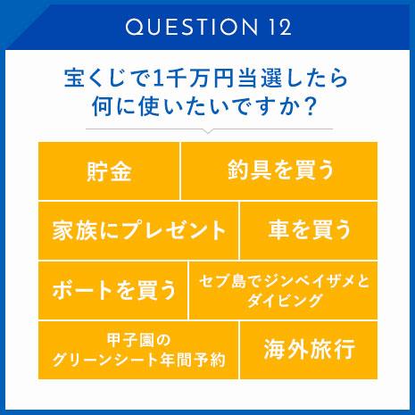 宝くじで1千万円当選したら何に使いたいですか?